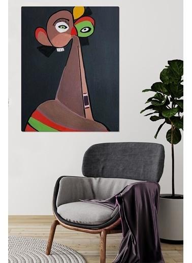 MarkaEv Canvas Kübik Tablo 0051 Renkli